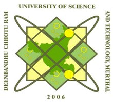 Image result for Deenbandhu Chhotu Ram University Of Science And Technology logo
