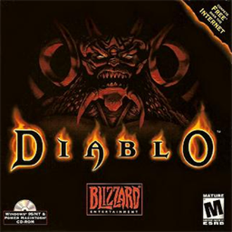 Diablo (video game) - Cover art