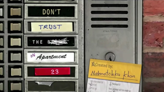 Don't Trust the B---- in Apartment 23 - Image: Don't Trust the B in Apartment 23 intertitle