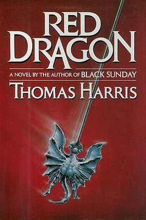 Red Dragon (novel) - First US hardback edition cover