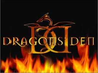 Dragons' Den (Canadian TV series) - Image: Dragon's Den logo