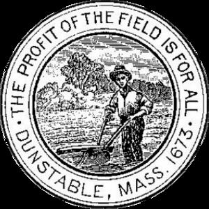 Dunstable, Massachusetts - Image: Dunstable MA seal