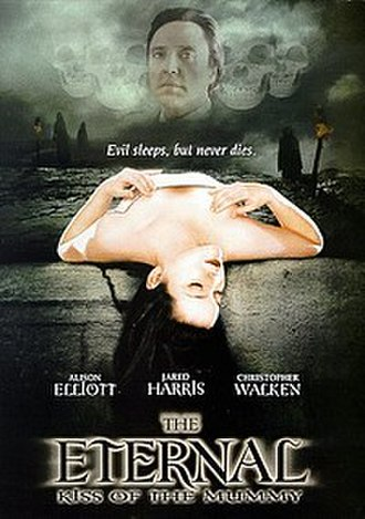 Trance (1998 film) - DVD cover with the alternative title The Eternal: Kiss of the Mummy
