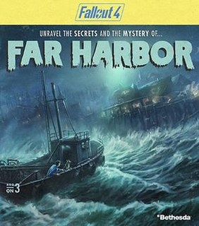 <i>Fallout 4: Far Harbor</i> Fallout 4 expansion pack