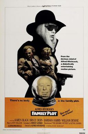 Family Plot - Original release poster