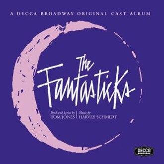 The Fantasticks - Original Off-Broadway cast album cover