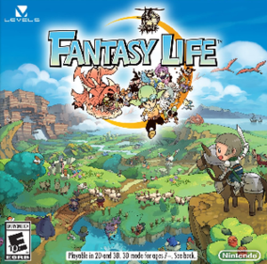 Fantasy Life - North American cover art