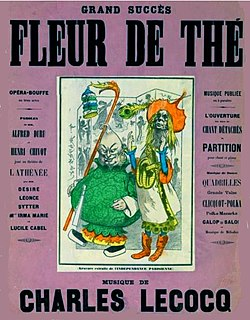 <i>Fleur-de-Thé</i> operetta