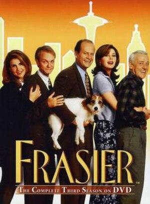 Frasier (season 3) - DVD cover