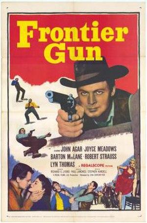 Frontier Gun - Theatrical release poster