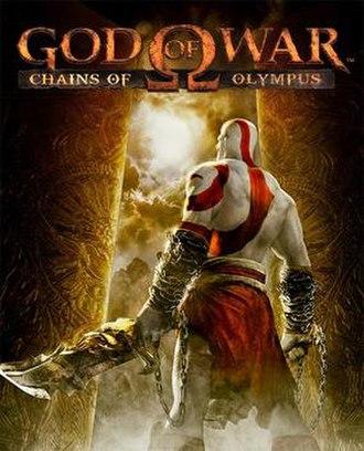 God of War: Chains of Olympus - North American box art