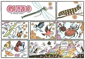A Gordo Sunday cartoon marking the passing of ...