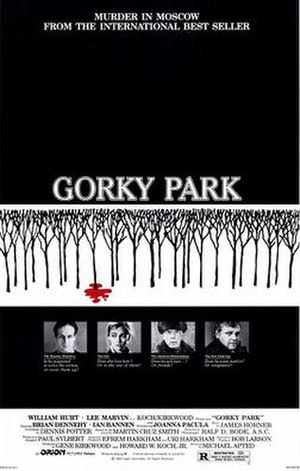 Gorky Park (film) - Theatrical release poster