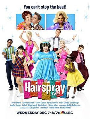 Hairspray Live! - Image: Hairspray Live Poster