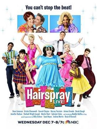 Hairspray Live! - Image: Hairspray Live Poster