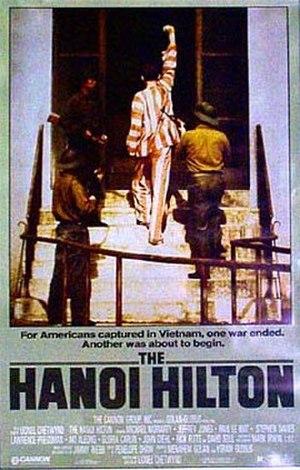 The Hanoi Hilton (film) - Theatrical release poster