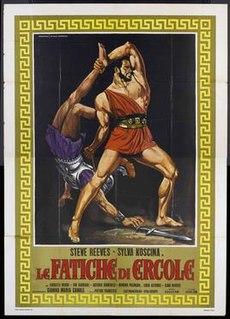 <i>Hercules</i> (1958 film) 1958 Italian epic fantasy feature film directed by Pietro Francisci