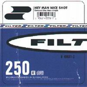 Hey Man Nice Shot - Image: Hey Man, Nice Shot (Filter single cover art)