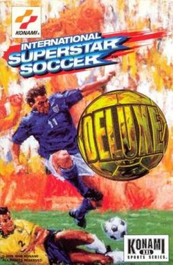 International Superstar Soccer Deluxe box art