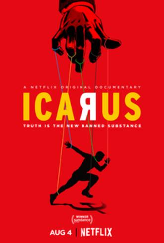 Icarus (2017 film) - Film release poster