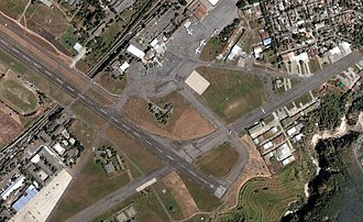 Ilopango International Airport - Satellite view of Ilopango Int'l Airport
