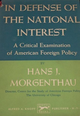 In Defense of the National Interest - First Edition (publ. Knopf)