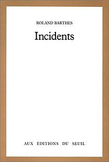 Incidents (Barthes book).jpg