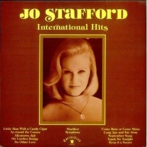 International Hits (Jo Stafford album) - Image: International Hits Jo Stafford album