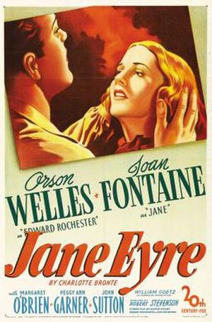 Jane Eyre (1943 film) - theatrical release poster