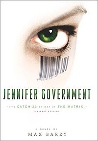 Jennifer Government - Wikipedia, the free encyclopedia
