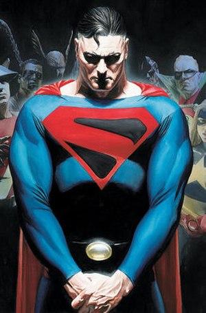Alternative versions of Superman - Image: Justice Society of America v 3 10 art