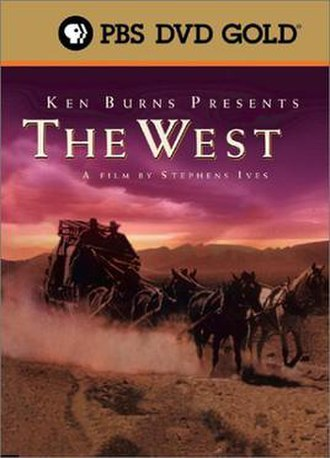 The West (miniseries) - DVD cover for The West