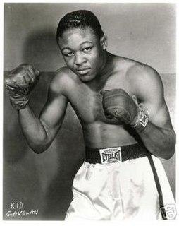 Kid Gavilán Cuban boxer