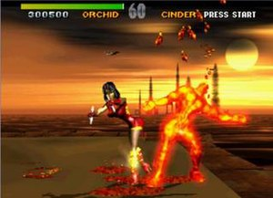 Killer Instinct (1994 video game) - Killer Instinct arcade screenshot