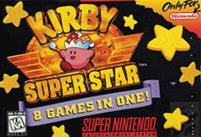 Picture of a game: Kirby Super Star