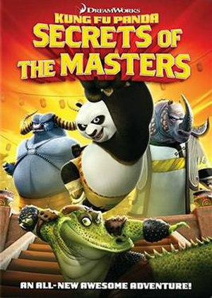 Kung Fu Panda: Secrets of the Masters - DVD cover