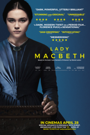 Lady Macbeth (film) - Theatrical release poster