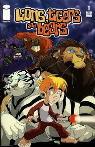Lions, Tigers and Bears (comics) - Cover of the first issue (2005 series)