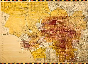Three Weeks in May - Image: Los Angeles rape map from Three Weeks in May