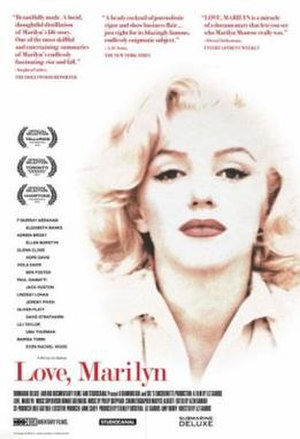 Love, Marilyn - Theatrical release poster