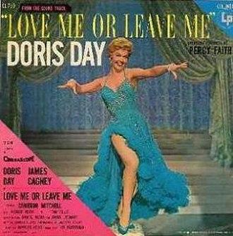 Love Me or Leave Me (Doris Day album) - Image: Love Me or Leave Me (Doris Day album) cover