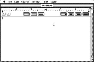 MacWrite - MacWrite 1.0