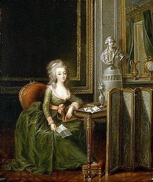 Alexander Kucharsky - Image: Marie Thérèse de Savoie, comtesse d'Artois