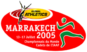 2005 World Youth Championships in Athletics - Image: Marrakech 2005logo