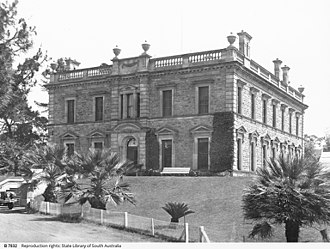 Mintaro, South Australia - Martindale Hall in 1932