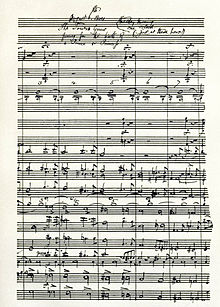 page of music manuscript