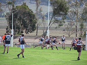 Ballarat Football League - Reserves match between Melton and Melton South