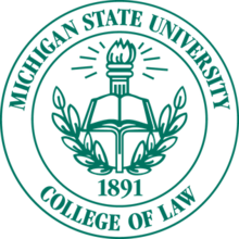 Michigan State College of Law seal.png