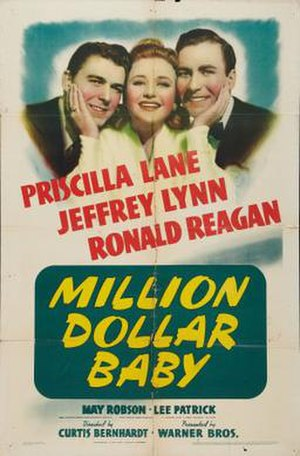 Million Dollar Baby (1941 film) - Image: Million Dollar Baby Film Poster