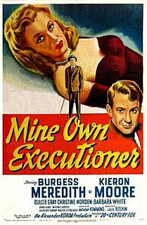 <i>Mine Own Executioner</i> 1947 film by Anthony Kimmins